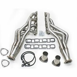 Jba 6961s 1-7/8 Stainless Steel 4 Into 1 Primary Long Tube Exhaust Header For