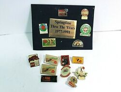 Vintage Coca-cola 15 Pin Lot W/ Springtime Set 1980and039s 1990and039s And More Coke