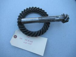 Porsche 356 Ring And Pinion 731 Date Stamped 11/62 519 32 204 C915