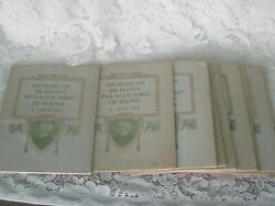 Lot Antique Harvard Lectures On Dr. Eliot's 5 Foot Shelf Of Books 1-12 Complete