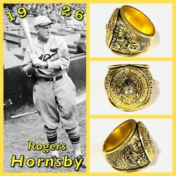 St Louis Cardinals Rogers Hornsby 1926 Championship Ring Size 11