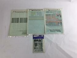 Ho Scale Micro-scale Decals Rock Island Western Pacific Union Pacific New Haven