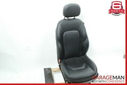 14-17 Maserati Ghibli Front Left Side Complete Seat Cushion Assembly Black Oem