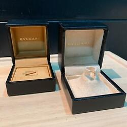 Bvlgari Official Two Cases Of Rings