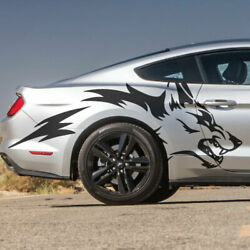 Fits Ford Mustang F-150 Ranger Truck Car Vehicle Vinyl Graphic Decal Side Coyote