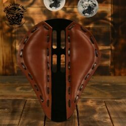 Bobber Chopper Custom Leather Solo Seat 4fourth Brown
