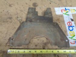 1958 Renault Dauphine Bell Housing Flywheel Inspection Cover Plate 57 1960 1963