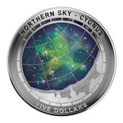2016 Northern Sky - Cygnus Domed 5 Silver Proof Coin