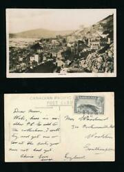 Gibraltar 1935 Real Photo Ppc Clear Photo 2d
