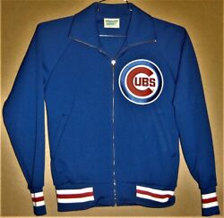 Chicago Cubs Blue Knit Zip Front Jacket Inventory 5-0093