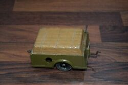 Britains 2041 Wind Up Clockwork Tested Fully Working Army Farm Trailer