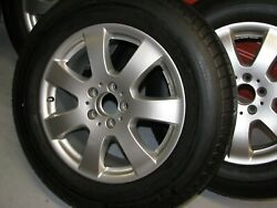 Mercedes Benz W164 W251 7.5x17 17 Wheels And Tires Rims Set Of 4 Silver Oem