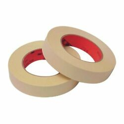 Scotch High Performance Masking Tape 214 Tan, 1 In X 60 Yd Case Of 36