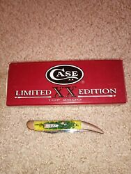 Case Knives Lemon Lime Texas Toothpick Limited Edition Rare knife