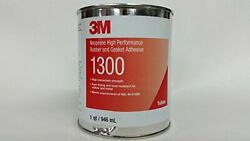 3m 1300 Yellow Neoprene High Performance Rubber And Gasket Adhesive, 1 Pint