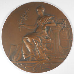 France Seated Female - The Arts Large Cast Bronze Studio Model About 5 By Rivet