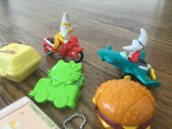 Vintage 1987 Mcdonalds Changeables Happy Meal Toys - Transformers, Mac Tonight