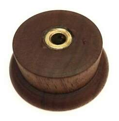 Solid Walnut Reproduction 1938 Zenith Shutter Dial Tuning Style Radio Knob