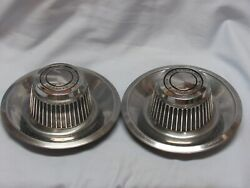 Chevrolet Chevy Motor Divison Ralley Hubcap Center Caps Wheel Covers Nice