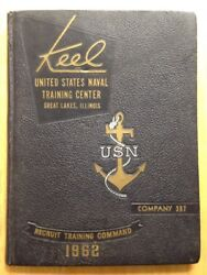 1962 U. S. Navy Basic Training School Yearbook, The Keel, Great Lakes, Il, 397
