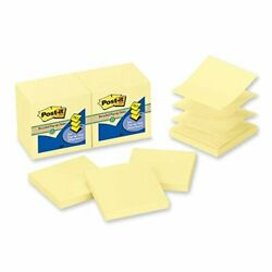 Post-itandreg Canary Yellow Pop-up Note Refills Refillpst-it3x3pupyw Pack Of50