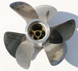 Pair Front And Rear Volvo Penta E3 Duo Prop Stainless Steel 3 Blade Propeller N6