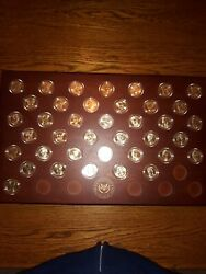 Danbury Mint Presidential Dollars Coin Collection-uncirculated-507 Total Coins