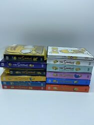 The Simpsons Dvds Seasons 1-12 Missing Season 9 / The Movie Included