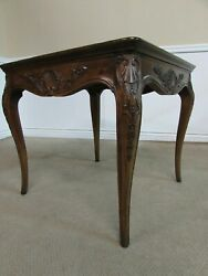 Henredon Villandry Country French Walnut End Table, Accent Table, 3201-42