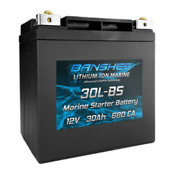 Banshee Starter Battery For All 25hp Or Less Yamaha Outboard Motors