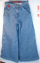 Original 1980and039s Jnco Usa Made Classic Jeans Auto Cue 320 36 Inch Bottoms 33w 33l
