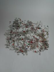 Can Pull Tabs Beer Pop Soda Coke Claws Aluminum Color Red Pink Green Blue Silver