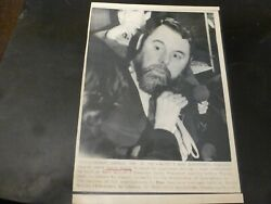 Vintage Wire Press Photo Terry Waite Anglic Envoy Kidnap American 3 12/24/1986