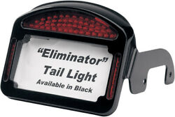 Cycle Visions - Cv-4800b - Eliminator Led Taillight/license Plate Frame Black H