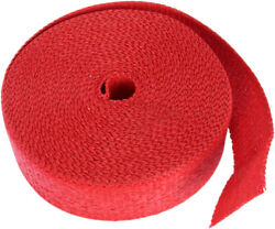 Cycle Performance - Cpp/9068-50 - Exhaust Pipe Wrap, 2in. X 50ft. - Red