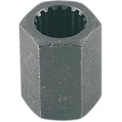 Dennis Stubblefield Sales - Tool32 - Hex Splined 18mm X 16 Tooth Female Prop To