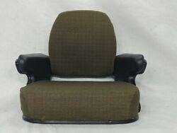 Brown Fabric Seat Assembly Topper John Deere 403042304430463084308630 Ss