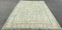 Fine Mahal Carpet Hand Made Caucasian Wool Rug 10ft X 7ft Cleaned