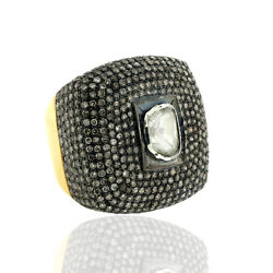 Memorial Day 14kt Solid Gold 7.04ct Diamond Ring .925 Sterling Silver Jewelry