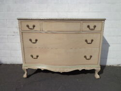 Dresser Antique Shabby Chic Finish Storage Chest Drawers Buffet Vanity Country