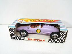 Marx Toys World Famous Racing Cars Friction Powered Nos Mint Boxed Am492
