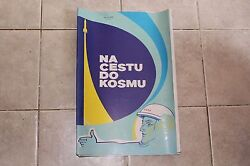 Original Vintage Pull Down School Chart The Journey Into Space Ussr 15x Posters