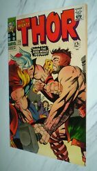 Thor 126 Nm 9.4 White Pgs 1966 Marvel - 1st Issue Of Title - Thor Vs Hercules