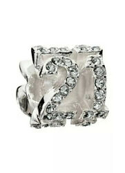 New Chamilia - Charms - Lucky Number 21 - - 2083-0044 Orig 60