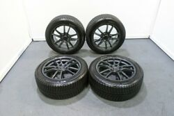 Used Monza Japan Zack Jp520 Wheels 17x8 5x114.3 With Good Michelin X-ice Tires