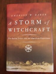 A Storm Of Witchcraft The Salem Trials And The American Experience, Occult 1st Ed