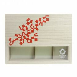 Tokyo 2020 Olympic Games Kasukabe Paulownia Jewelry Box Official Limited Goods