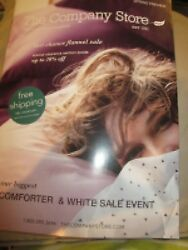 The Company Store Catalog Spring Preview Biggest Comforter And White Sale Event Ne