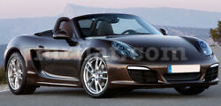 For Porsche Boxster 981 Grey Indoor Fabric Car Cover 2012-16 New