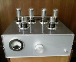 Tube Amplifier Stereo Push-pull Ultra-linear 6p3s-e And 6n9s 2x18w Coefficient 0.6